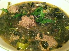 Yummy Nutrient Dense Italian Wedding Soup! Can be made AIP friendly if the red chili flakes & black pepper are left out. #paleo #AIP #21DSD