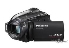 (CLICK IMAGE TWICE FOR DETAILS AND PRICING) Panasonic HDC-HS200. The Panasonic HDC-HS200 is a hybrid model that records Full   HD images either on an SD (or SDHC) memory card or the built-in 80GB hard disk   drive. The HS200 can copy recorded video images from the SD memory card to the   h.. . See More Camcorder Products at http://www.ourgreatshop.com/Camcorder-Products-C156.aspx