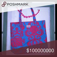 Free with $50 or more purchase Lilly pulitzer tote Lilly Pulitzer Bags Totes