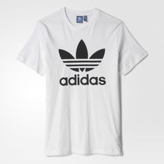 I have this shirt a lot in different colors Addidas Shirts, Adidas Shirt Mens, Adidas Men, White Tee Shirts, Pink Shirts, Men's Shirts, Adidas Outfit, Adidas Shoes, White Nikes