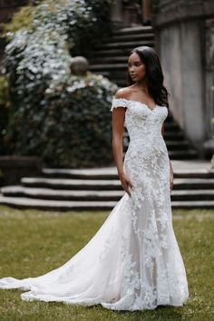 Wedding Dress Sizes, Wedding Gowns, Lace Wedding, Bridal Outfits, Bridal Dresses, Bridesmaid Dresses, Allure Couture, Bridal And Formal, Bridal Lace