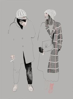 Agata Wierzbicka fashion illustration Based in... | Fashionary Hand - A Fashion Illustration Blog