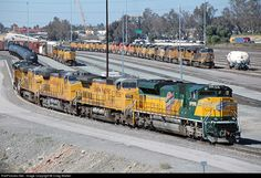 RailPictures.Net Photo: UP 1995 Union Pacific EMD SD70ACe at Bloomington, California by Craig Walker