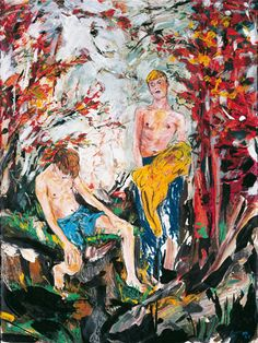 hernan bas art | Hernan Bas The Great Fall
