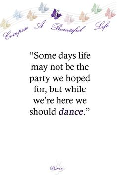 #dailylifenotes dance anyway