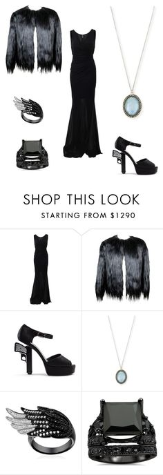 """Untitled #37"" by kwon-jaylin ❤ liked on Polyvore featuring Blumarine, Chanel and Armenta"