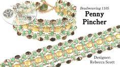 Penny Pincher Bracelet ~ Seed Bead Tutorials