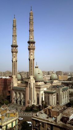 Al-Nour Mosque in Cairo