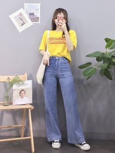 Korean Fashion Tips .Korean Fashion Tips Korean Fashion Summer, Korean Girl Fashion, Korean Fashion Trends, Korean Street Fashion, Ulzzang Fashion, Korea Fashion, Cute Fashion, Asian Fashion, Look Fashion
