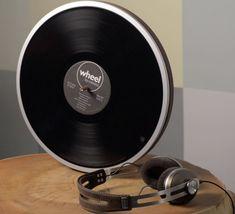 ほぼLPレコードサイズのレコードプレーヤー「Wheel」…このサイズが実現できた秘密とは? - インターネットコム
