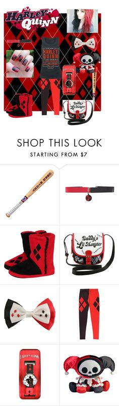 """Harley Quinn x ❤️❤️"" by loveprincess4eva ❤ liked on Polyvore featuring Swat and Concept One"