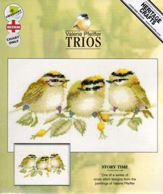 Heritage-Valerie-Pfeiffer-Cross-Stitch-Chart-Pattern-STORY-TIME-602-Sale