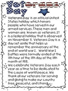 Thank you letters to veterans example sample templates honor i realized that i had not posted my veterans day unit update i added a few things from last years unit if you are still in need expocarfo Image collections