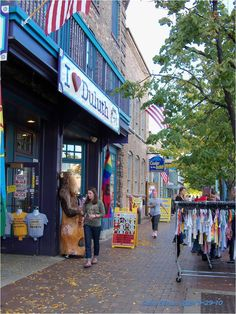 Duluth, MN~We love the shops along here. We have many things in our home from these stores.