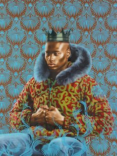 Kehinde Wiley=inspiration