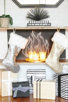 Blogger Stylin' Home Tours- My Christmas Home Tour