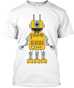 Yellow robot LIMITED EDITION  Order yours before time runs out  Click but it now to pick your size and order