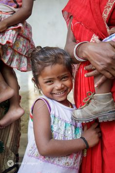 Your support helps provide life changing vitamins for children around the world, like Nupur from India!