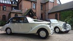 A Pair of Bentley 'R' Types wedding car for hire in Portsmouth, Hampshire