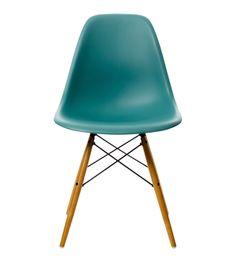 Chaise DSW Bleu Ocean /Erable EAMES