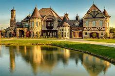 2601 Twelve Oaks Lane, Celina, TX 75078 – Schönes Luxushaus zum Verkauf Celina … - just luxux Mansion Homes, Dream Mansion, Dream House Plans, My Dream Home, Casa Hotel, Castle House, Big Houses, Dream Houses, Elegant Homes