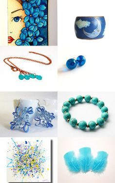 Light blue by Gaia Salatino Ghirardi on Etsy--Pinned with TreasuryPin.com  #giftguide #etsytreasury #bluegift