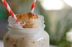 Stand's Toasted Marshmallow Milkshake - the ones at Stand are unbelievably delicious - hope these come out the same...