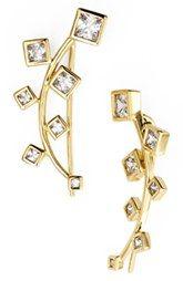 Marcia Moran Crystal Ear Cuffs
