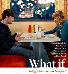 First Look: Daniel Radcliffe in Romantic Comedy 'What If'