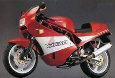 1988 Ducati 900 Super Sport Cafe Racer #motorcycles #motocicletas