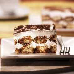 This tiramisu recipe is big on flavor and an easy-to-make dessert. Drizzled with a unique coffee mixture that will tantalize taste buds with every bite.