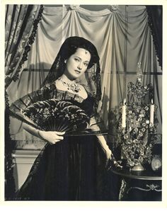 EXQUISITE MERLE OBERON 1947 DOUBLEWEIGHT PHOTO BY COBURN - CHOPIN BIOPIC - EXCEL