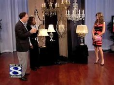 Nice David Director And Antoinette Wallen From Connecticut Lighting Centers Show  WTNHu0027s CT Style Host Sonia Baghdady