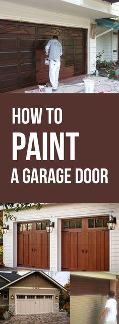 Garage Doors That Look Like Barn Doors Very Easy Diy With Paint And