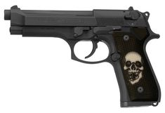 Broken Skull Custom Beretta 92 96 M9 Grips Give your gun a personalized custom look! This grip is for the Beretta 92, Beretta 96, and Beretta M9 It WILL NOT FIT the Taurus PT92 or PT96 Each grip begins life as an injection molded high strength polymer blank made from a carefully engineered mold designed to fit the Beretta 92 exactly. It is then custom printed using a unique, proprietary process for full color, full wrap coverage around the grip. Our unique process is kind of like a tattoo...