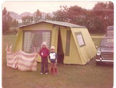 - Frame Tent, my parents bought one of these, had all mod cons inside, had plenty of holidays around Devon, Cornwall the South Coast of England staying in it! 1970s Childhood, Childhood Days, Nostalgia, South Wales, Retro, Going On Holiday, The Good Old Days, Happy Campers, Back In The Day
