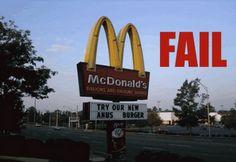 11 Mcdonald S Ideas Funny Signs Bones Funny You Had One Job
