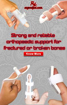 Orthopedic Support for fractured bone