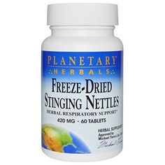 Freeze Dried Stinging Nettles Planetary Herbals 60 Tabs -- Read more  reviews of the product
