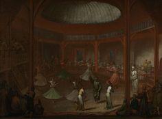 Whirling Dervishes, Jean Baptiste Vanmour, c. 1720 - c. 1737