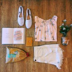 Coisas amadas da @loja_amei  #lojaamei #muitoamor #novidades #alpargata #jeans #shorts #flores