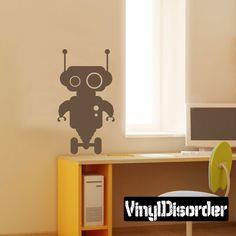 Robot Wall Decal - Vinyl Decal - Car Decal - BA008