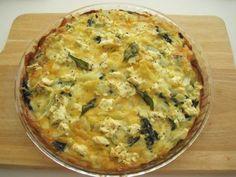 Quiche with a potato crust | InspiredNourishment.wordpress.com
