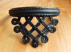 Browband with Hungarian Sallang Braiding, Ornamented Black Browband for Horse Bridle Horse Bridle, Horse Jewelry, Headstall, Saddles, Dressage, Leather Working, Pony, Horses, Traditional