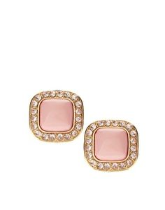 ASOS | ASOS Opaque Stone Stud Earrings at ASOS - StyleSays