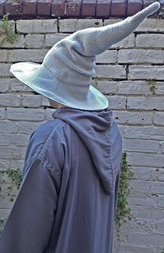 Crochet Lord of the Rings Gandalf Hat by BlackFishes on Etsy