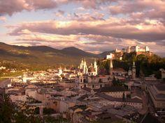 Salzburg Stadt Paris Skyline, Travel, Viajes, Destinations, Traveling, Trips