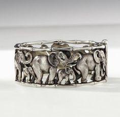 Limited Edition Gustav Manz Elephant Bracelet