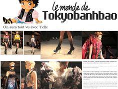 tokyobanhbao avec la chanteuse Yelle  defile on aura tout vu ete 2012