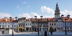Old Town Square in Bielsko-Biala, Poland